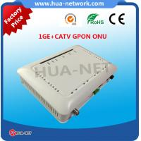 China HZW-G801-T ONU GPON 1GE+CATV GPON ONU with high quality from HUANET on sale