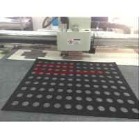 Quality SBR Mat Rubber Sheet Flatbed Auto Grading Oscillating Knife Cutting Machine for sale