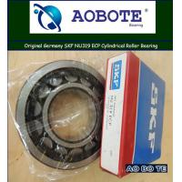 Quality Chemical Processing SKF NU319 ECP Cylindrical Roller Bearings With Steel Cage for sale
