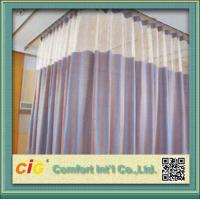 China Polyester Cubicle Hospital Use Modern Curtain Fabric / Curtain Cloth Material for Upholstery on sale