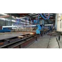 Quality CNC Oxygen Cutting Machine Double Side Panasonic Driver 100m Thickness for sale
