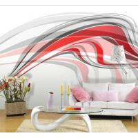 Quality Non Toxic Beautiful Simple Abstract Custom Wall Art Interior Decoration Wallpaper JC-009 for sale