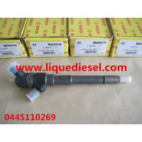 Quality BOSCH Genuine and Brand New Common rail injector 0445110269,0445110270 for Chevrolet, DAEWOO 96440397 for sale