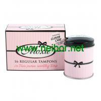 Quality accept OEM order mini round tampon tin box for sale