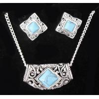 China Turquoise Jewelry Set,Necklace,Earrings JS026 on sale