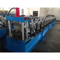 China Round Shape Seamless Gutter Roll Forming Machine Single Chain 15 Stations on sale