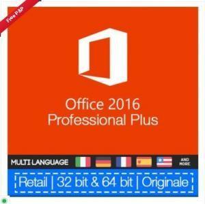 Quality 100% Genuine Microsoft Ms Office 2016 Pro Plus Retail Key No Language Limitation for sale