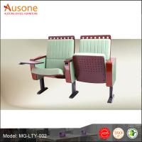 Best New Design Two Set Durable Comfortable Fabric Folding Auditorium Chair/ Theater Chair wholesale