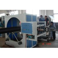 Quality Hollowness Spiral HDPE Pipe Extrusion Line , Spiral HDPE Pipe Extruder Machine for sale