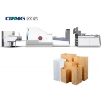 Quality 770mm Roll Feeding Bread Paper Bag Making Machine for sale