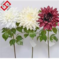 Quality Dahlia Artificial Silk Flower for Christmas Decoration for sale