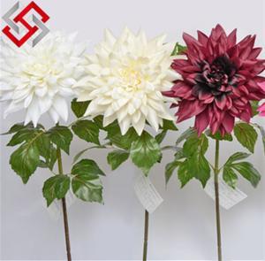 Best Dahlia Artificial Silk Flower for Christmas Decoration wholesale