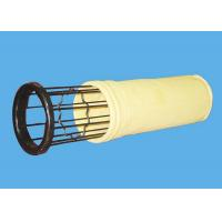 China Industrial Dust Collector Bag Filter Cage Zinc Plated Rib Filter Cage on sale