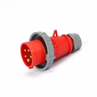 Buy cheap IP44 400V 16A IEC Nickel Plated Contacts Industrial Plugs from wholesalers