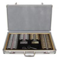 Quality Easy Carry On Optometry Trial Lens Set 158 PCS Accurate Optical Lens GLJ8158 for sale