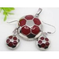 Quality White Enamel Stainless Steel Jewelry Sets 1900317 for sale