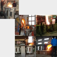 Quality 2000HZ 800A Induction Brass Aluminum Melting Furnace for sale