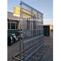 Durable Good Looking Wire Mesh Fence Panels Iron Rod Material 200*50Mm