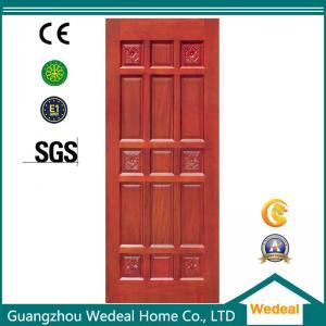 China wooden interior door Yellow Wooden Interior Door For Room/Hotel/Villa In High Quality on sale