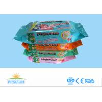 China Antiseptic Baby Disposable Wet Wipes Flushable For Face / Hand , 20x15cm Size on sale