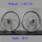 Quality REAR Spoked Motorcycle Wheels Colorful Steel Custom Spoke Motorcycle Wheels for sale