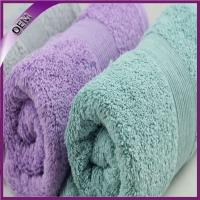 Quality wholesale high quality hot sell  100% cotton bath towel specification for sale
