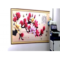 Quality 24㎡/H 720X1080DPI CMYK Vertical Wall Painting Machine for sale