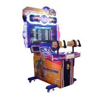 Quality Interactive 2 Players Transformer Shooting Arcade Machine for sale