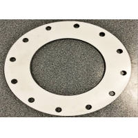 Quality 3.2mm Thickness Non Metallic Hole Full Face Flange Gasket For Plate for sale