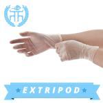 Quality white powder free medical vinyl gloves manufacturer for sale