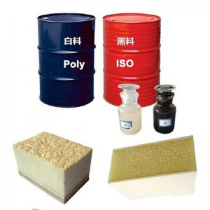 Quality Water based Flexible PU foam polyurethane raw material for continuous sandwich panel for sale