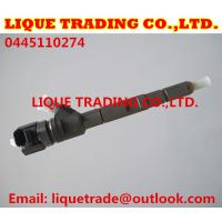 Quality BOSCH Common rail injector 0445110274 0445110275 for HYUNDAI fuel injector 33800-4A500 for sale