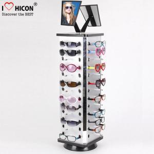 Buy cheap Merchandising Metal Rotating 4 - way Countertop Eyeglasses Display stand from wholesalers