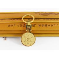 Quality Retro Stainless Steel Key Ring , Custom Buddhist Gold Plated Key Ring for sale