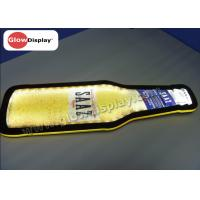 Buy cheap Bottle Shape Crystal slim Sign Led Illuminated for indoor promotion from wholesalers