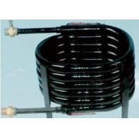 Quality Anti-refrigerent Copper Coaxial Heat Exchanger For A/C Chiller Aquarium for sale