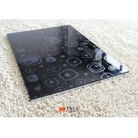 Quality Geometrical Figure Painted 4 x 8 3D MDF Board Melamine Particle Boards for sale