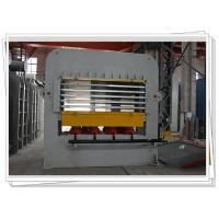 China Short Cycle Laminate Hot press Machine With Multi Layer For Wooden Job Veneering on sale