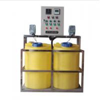 China Auto Dosing Pump Chemical Dosing Tank For Sludge Dewatering Process on sale