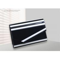 Quality Modern Acrylic Ladies Envelope Clutch Bag Black And White Colors For Party for sale