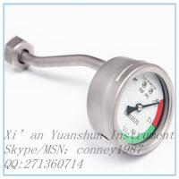 China electric contact gas pressure gauge manometer on sale