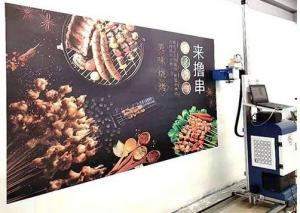 Quality High Speed 50DBA 2880DPI Vertical Wall Mural Printer for sale