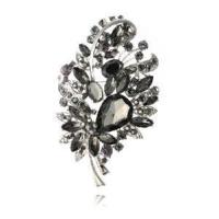 Quality Costume Crystal Jewelry Brooch (BH-005) for sale