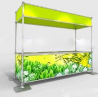 Quality Clipping exhibit displays,Quick show stand,Portable trade show display for sale