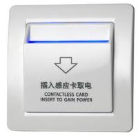 Quality ABS Material Energy Saver Hotel Card Key Switch 6600W FL-204 Model for sale