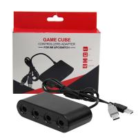 Buy cheap Adapter for Gamecube Controller to Wii U Nintendo Switch PC USB 4 Port Connector from wholesalers