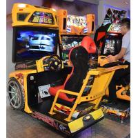 Quality Stunning Visual Enjoyment Racing Game Machine With Big High Definition Screen for sale