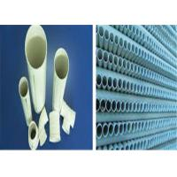 China High Intensity Pvc U Drainage Pipe 1.0Mpa Pressure Grade Smooth Inner Walls on sale
