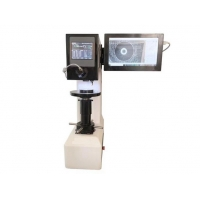 China Closed Loop Sensor 10 Steps Force Brinell Hardness Testing Machine with LCD 20X Microscope on sale