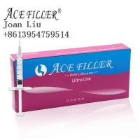 Best ACE 1ml ultra line injectable dermal filler gel for chin plastic surgery wholesale